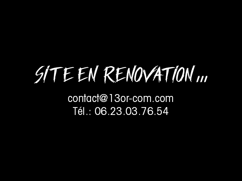 site en renovation